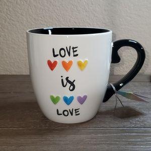 """ENVOGUE Pride Collection """"Love is Love"""" mug."""